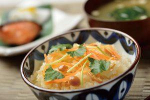 真粒米きのこご飯