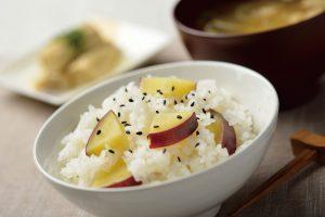 真粒米さつまいもごはん